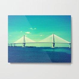 Charleston Bridges Metal Print