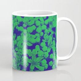 Duotone Florals Coffee Mug