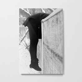 Fench Metal Print