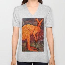 Mystic Kangaroo Unisex V-Neck
