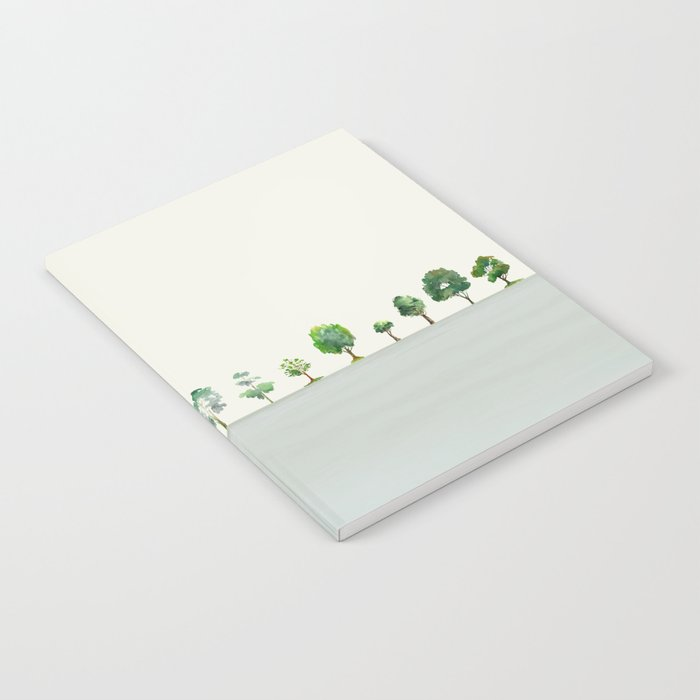 A Row Of Trees Notebook