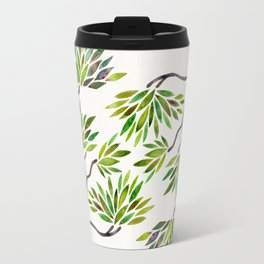 Bonsai Tree – Green Leaves Travel Mug