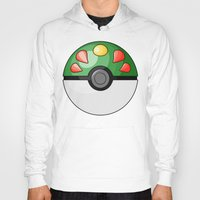 pokeball Hoodies featuring Friendship Pokeball by Amandazzling