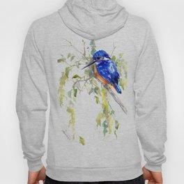 Kingfisher on the Tree Hoody