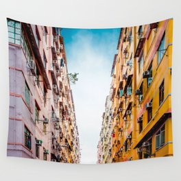 Residential aprtment in old district, Hong Kong Wall Tapestry