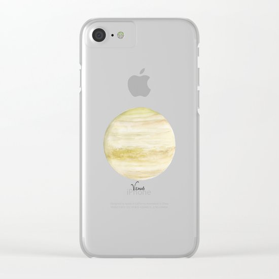 Venus Clear iPhone Case