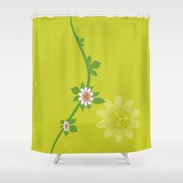 Maracuja flower Shower Curtain