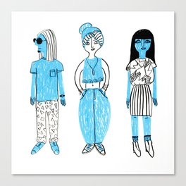 Tokyo Fashion I Canvas Print