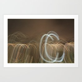 Bright Lights, Big City IX Art Print
