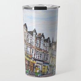 Grassmarket Dusk, Edinburgh Travel Mug