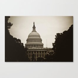 DC Canvas Print