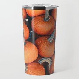 Fall Pumpkins Travel Mug