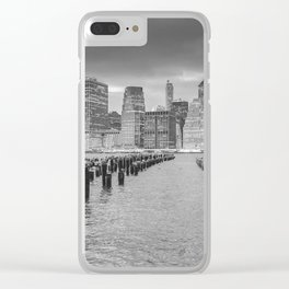 New York View Clear iPhone Case