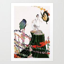 Stories by Mrs Molesworth II Art Print