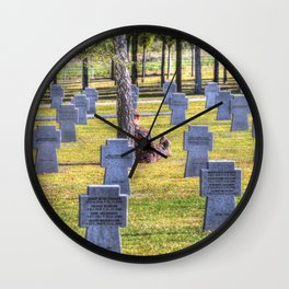 The Futility Of War Wall Clock