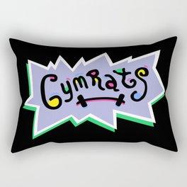 Gym Rats Rectangular Pillow