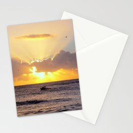 Golden Lining Stationery Cards