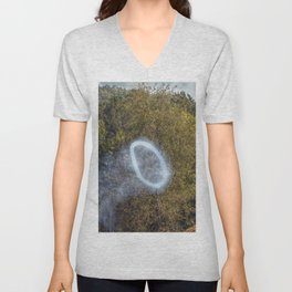 Cannon Smoke Ring Unisex V-Neck