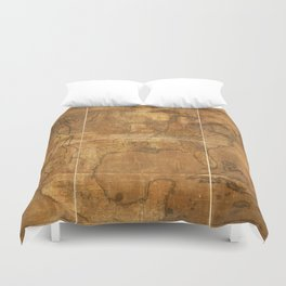 Map of the United States of America (1822) Duvet Cover