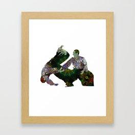 Aikido Rising Energy Framed Art Print