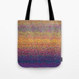 CMYK Glitch Tote Bag
