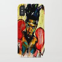 basquiat iPhone & iPod Cases featuring Basquiat by Ruby Chavez