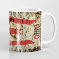 ohio Mugs featuring OHIO by Bili Kribbs