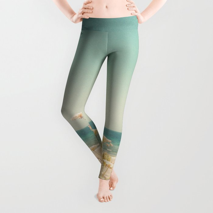Water and Lace Leggings
