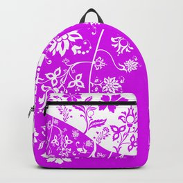 floral ornaments pattern wbp90 Backpack