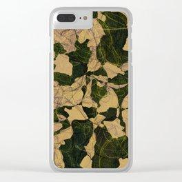 Burgeon, II Clear iPhone Case