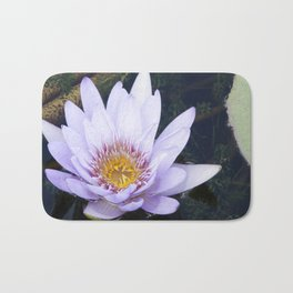 Blue Lotus Flower Bath Mat