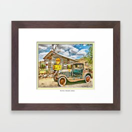 Hackberry, Arizona - Route 66 Framed Art Print
