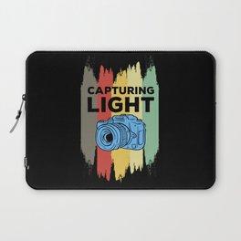 Capturing Light - Retro Photo Camera Laptop Sleeve