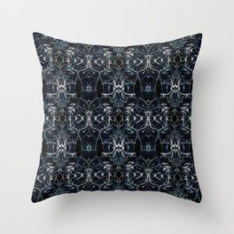 Fractal Space Pattern Throw Pillow