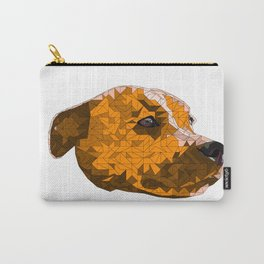 Max the Staffy Carry-All Pouch