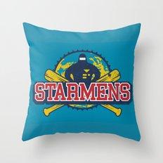 Starmens Throw Pillow