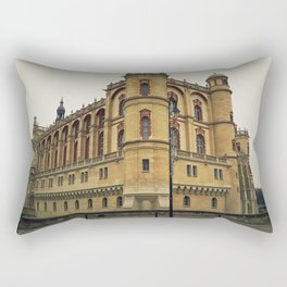 castle of Saint Germain en Lay Rectangular Pillow