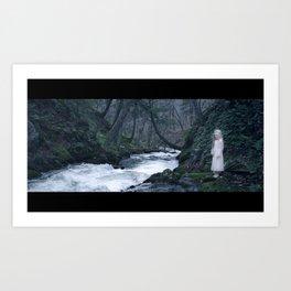 Her & The River (KIN Film Still) Art Print