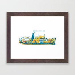 BELAFONTE - The Life Aquatic with Steve Zissou Framed Art Print
