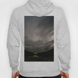 Lake Hawea lake wakatipo blue crystal clear panorama blue fisheye Hoody