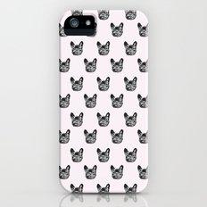 Polka dog iPhone (5, 5s) Slim Case