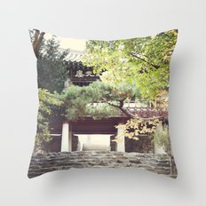 The Path to Enlightenment Throw Pillow