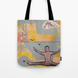 there is something about life Tote Bag