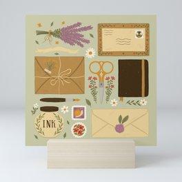 Snail Mail Mini Art Print