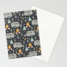 Airstream Camping Stationery Cards