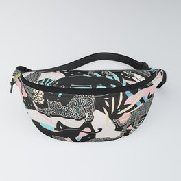 Exotic Jungle / Maximalist Pattern Fanny Pack