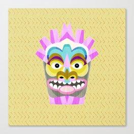 Aloha Tiki Mask Canvas Print
