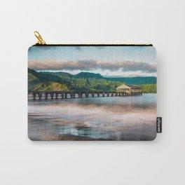 Hanalei Pier Kauai Hawaii  Carry-All Pouch