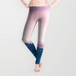 Pale Pink Sky Leggings