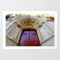 Cathedral Notre Dame de Paris Art Print